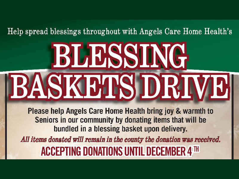 Blessing Baskets Drive