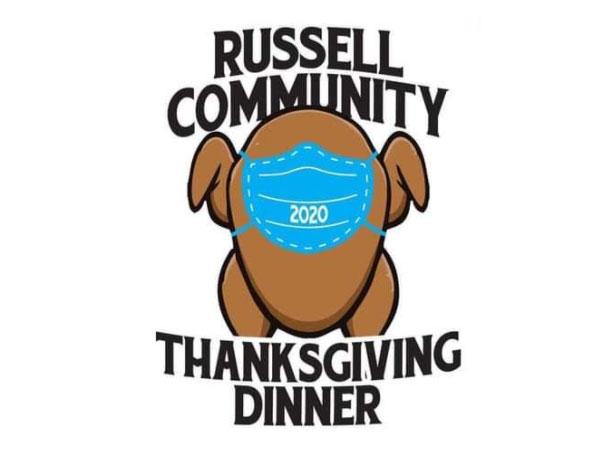 Russell Community Thanksgiving Dinner Logo