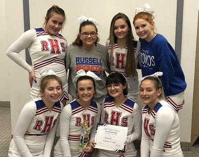 RHS Cheerleaders Awards 11-7-20 1