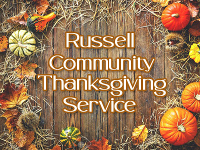 Russell All Faith Thanksgiving Community Service
