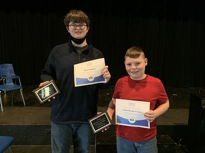 2021 Russell County Spelling Bee Winners