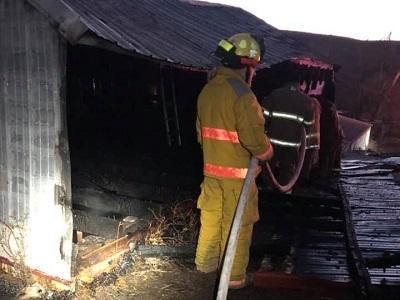 Barn Fire 2-19-21