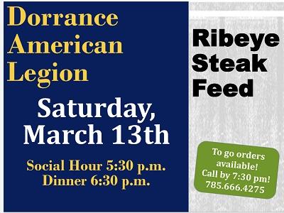 Dorrance Steak Feed March 2021