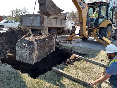 1971 Time Capsule Unearthing