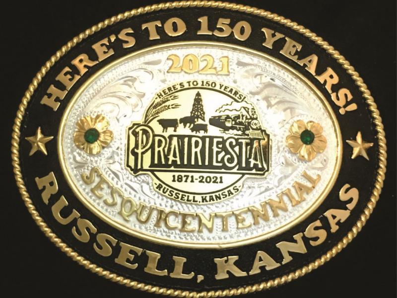 Prairiesta 2021 Belt Buckle