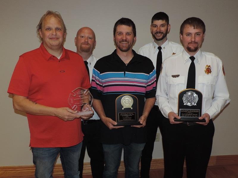Dennis Johnson, Dylan Riedel, Tyler Reynolds, Rick Webb and Jacob Boxberger.