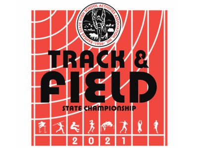 2021 KSHSAA State Track and Field Meet Logo
