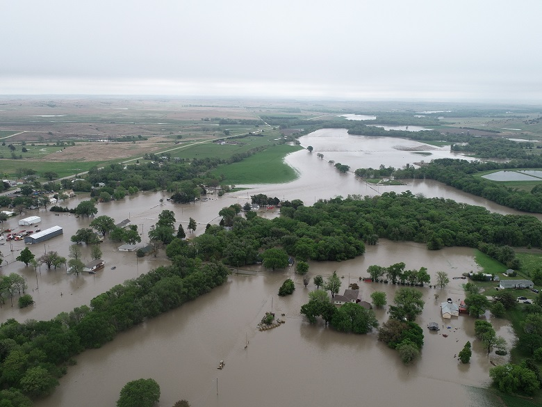 Natoma Flooding Drone Picture 5-16-21 2