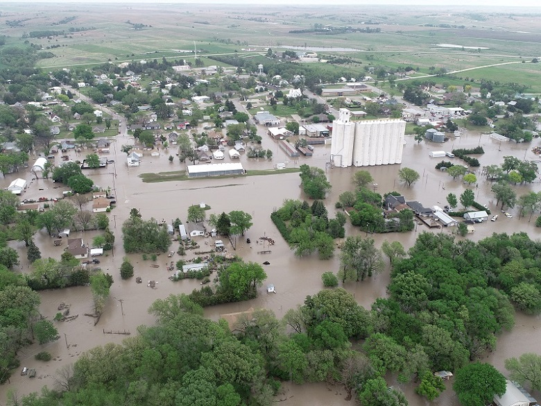 Natoma Flooding Drone Picture 5-16-21