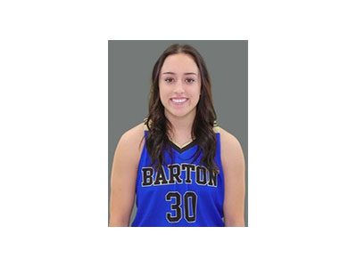 Russell High School graduate Tiffany Dortland has committed to Newman University in Wichita.  (Photo courtesy of Barton Community College Athletics).