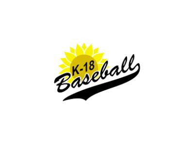K-18 Baseball Logo