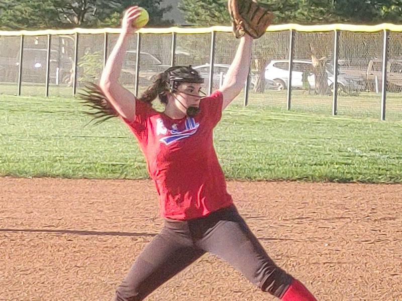 Russell K-18 softball team began its summer season with a pair of wins over Hays on Thursday, June 3 in Russell.