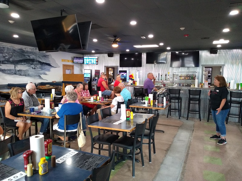 Fossil Bar and Grill What's Up in Russell Coffee 7-27-21