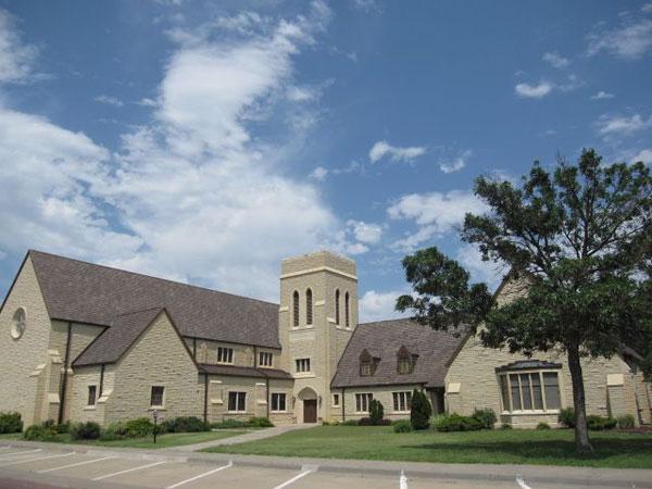 Trinity United Methodist Church in Russell