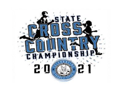2021 KSHSAA State Cross Country Logo