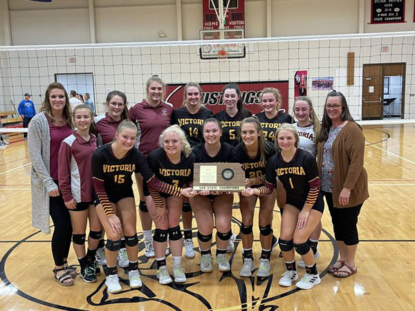 Victoria won the Sylvan-Lucas 1A Div. I Sub-State in Sylvan Grove on Saturday, Oct. 23. (Photo courtesy USD 432 Twitter Page)